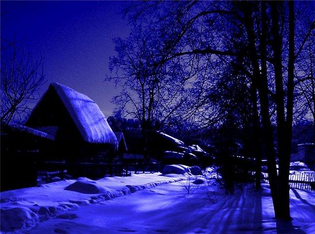 Казариновская. Самое тёмное поселение в Европе