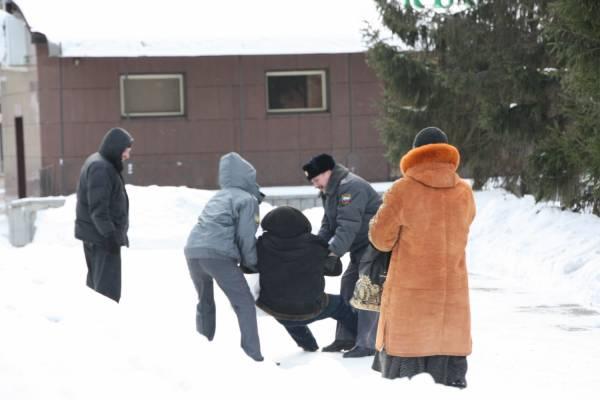 Нарьян-Мар. Задержание новогоднего педофила