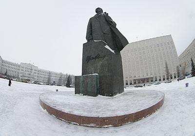 Архангельск. Митинг на площади Ленина