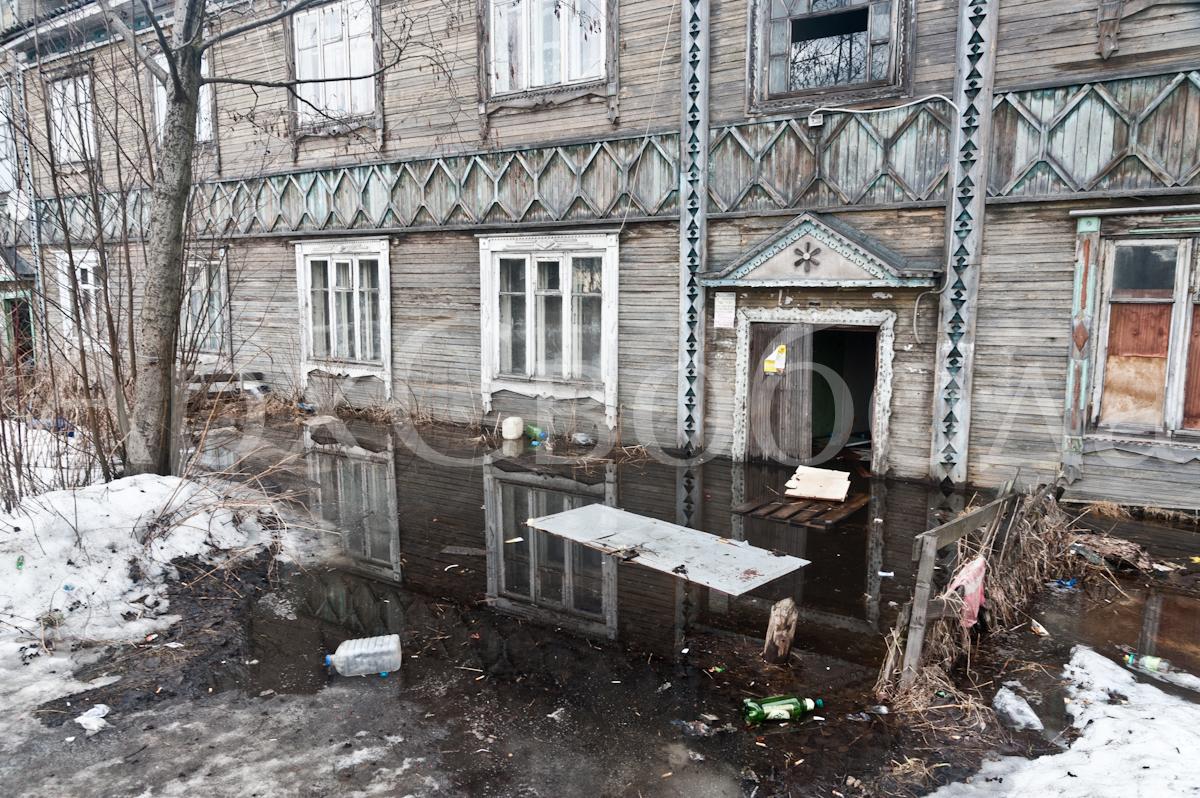 Архангельск. Фоторепортаж. 17 апреля 2014 года