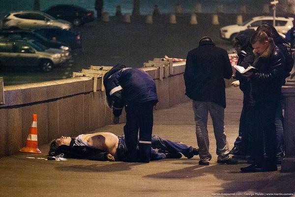 Бориса Немцова убили