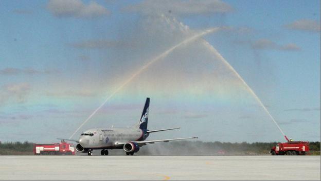 В аэропорту Архангельск временно отменяются все международные рейсы