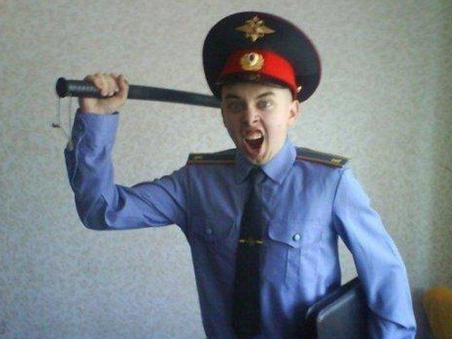 Нападение на живот полицейского