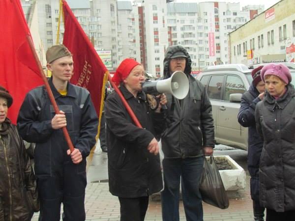 Северодвинск. Полиция схватила Олю!