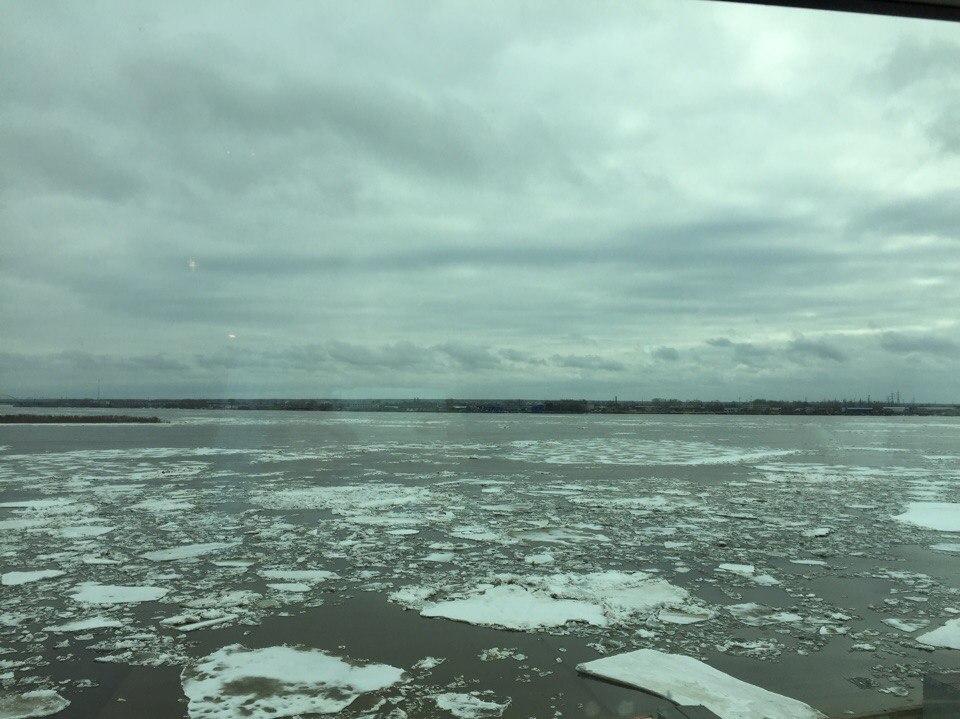 К Архангельску приближается ледоход