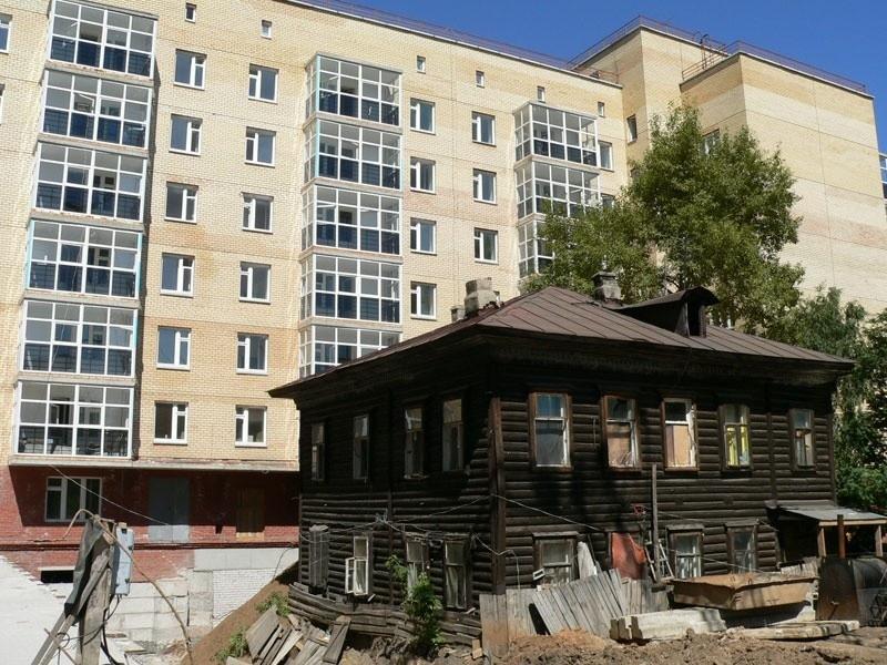 Архангельск. Видимость программы переселения