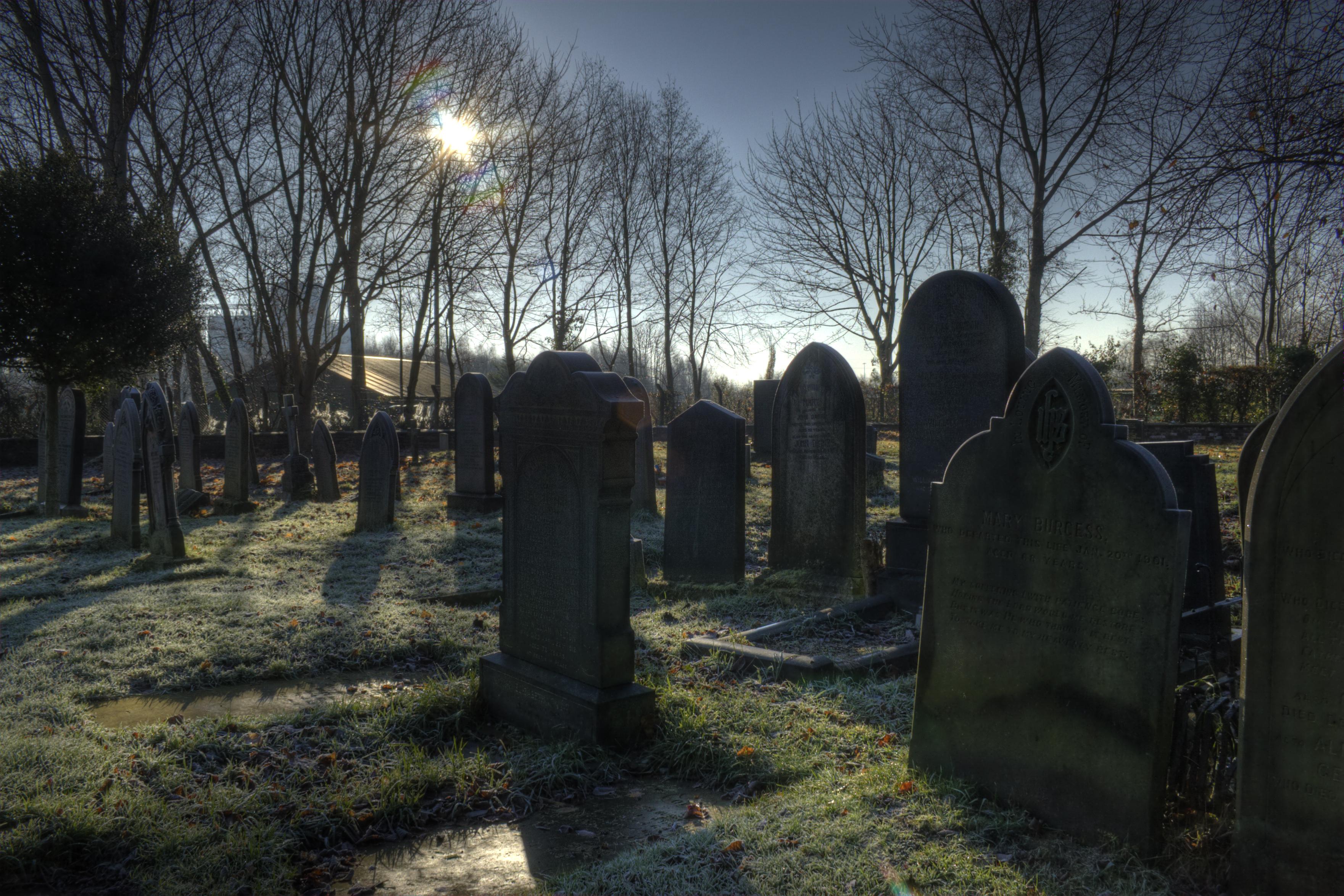 Школа на кладбище. Как вам такое?