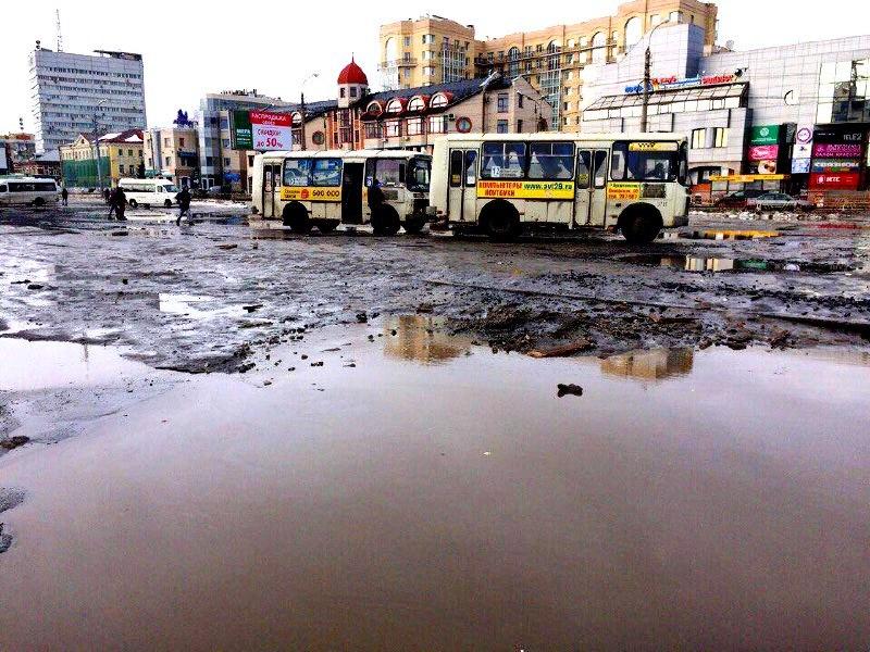 Отремонтируют ли дороги в Поморье?