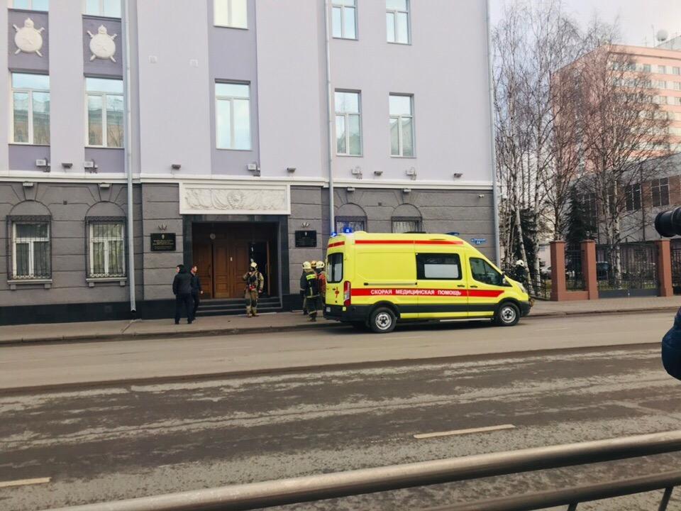 Архангельск. Взрыв в здании ФСБ
