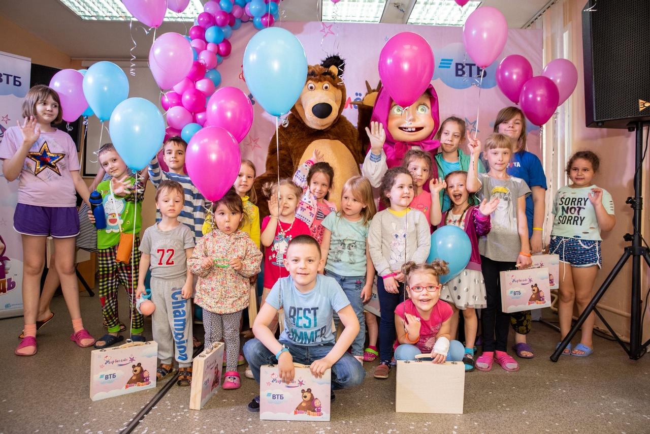 ВТБ оказывает помощь детским мед. учреждениям