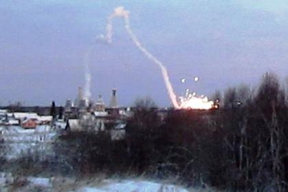 Архангельск. Взрыв на военном объекте
