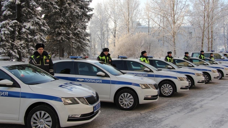 ГИБДД получило 70 новых авто