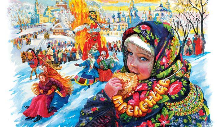 Афиша масленичных гуляний в Архангельске на 1 марта