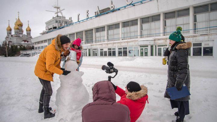 В Архангельске прошли съемки телепрограммы о путешествиях