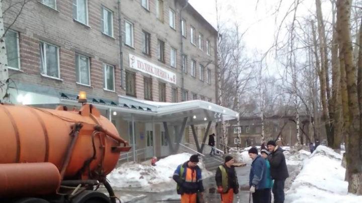 В Архангельске потоп
