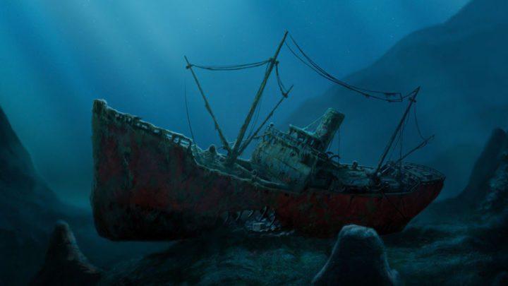 У острова Мудьюг нашли древний затонувший корабль
