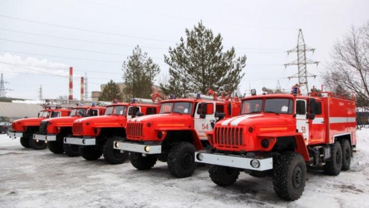 В районы Поморья поступила новая пожарная техника