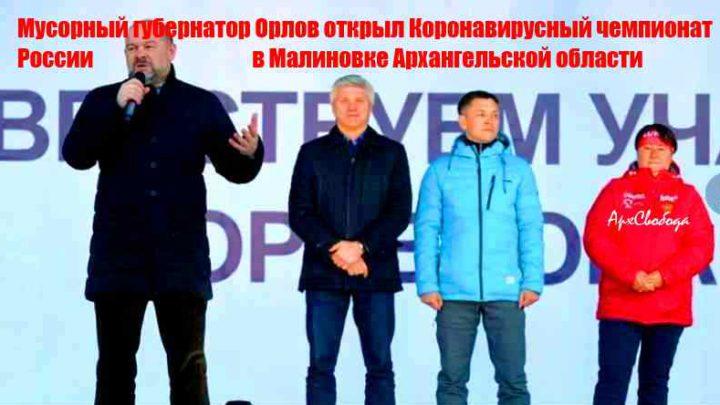 Архангельск. Вирус в Малиновке