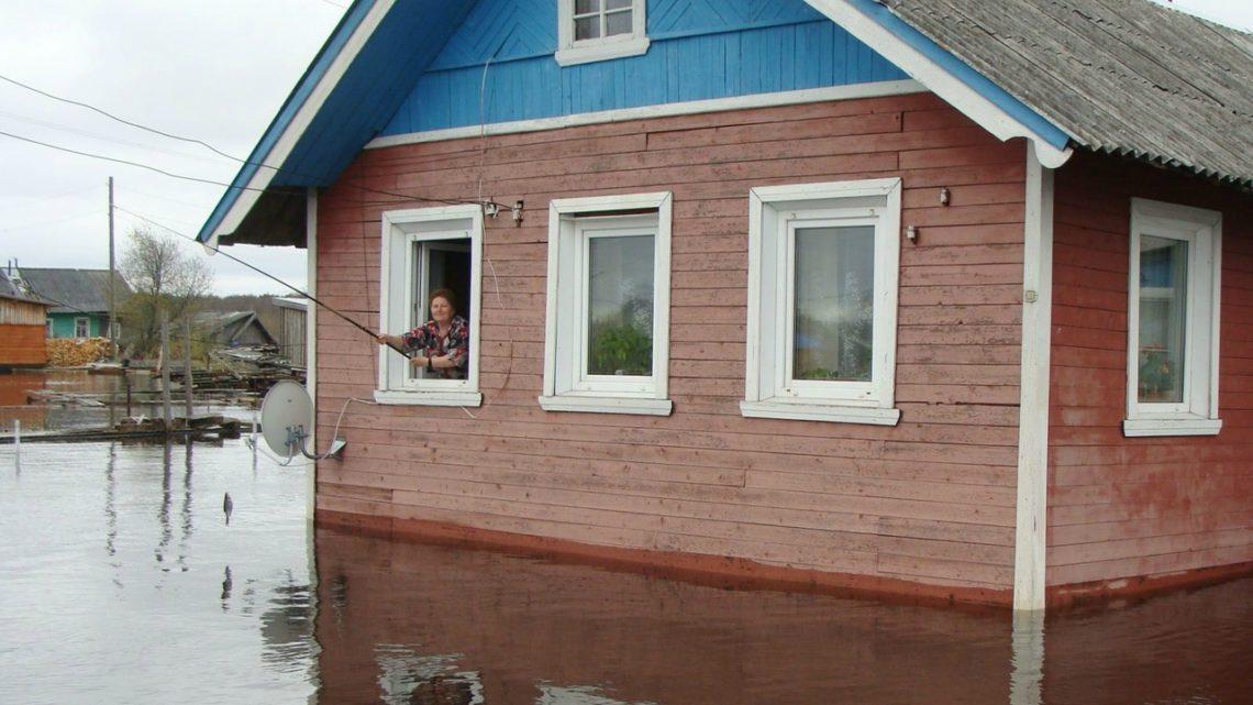Ловить рыбу из окна? Такое возможно только у нас!