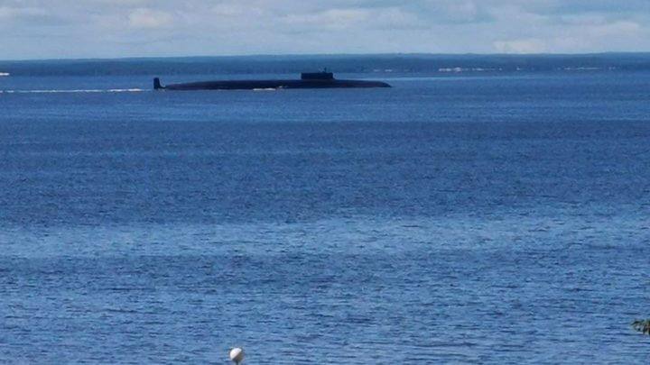 «Князь Владимир» начал переход из Северодвинска в главную базу подводных сил Северного флота