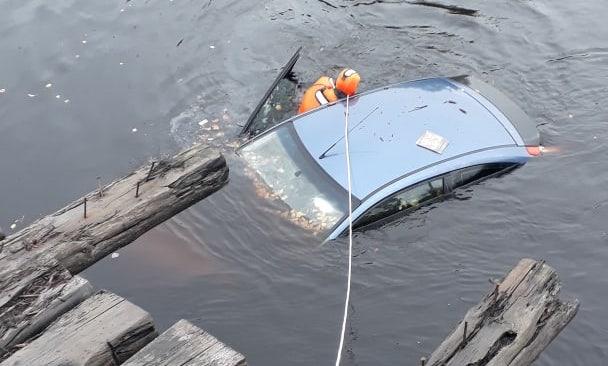 В Архангельске плавал Ford