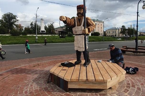 Новый арт-объект появился на набережной
