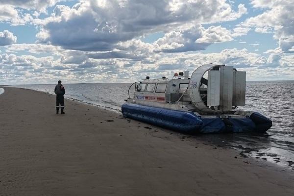 Осторожно! Повышение уровня воды в дельте Двины