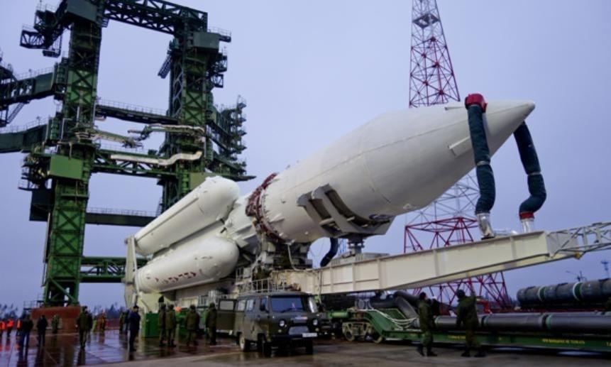 С космодрома Плесецк запланирован пуск тяжёлой ракеты-носителя «Ангара»