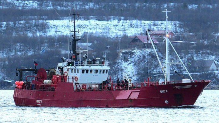 В Архангельской области затонуло рыболовецкое судно.