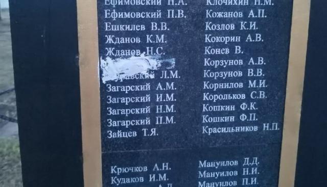 В Сольвычегодске  повредили мемориал памяти воинов Великой отечественной войны
