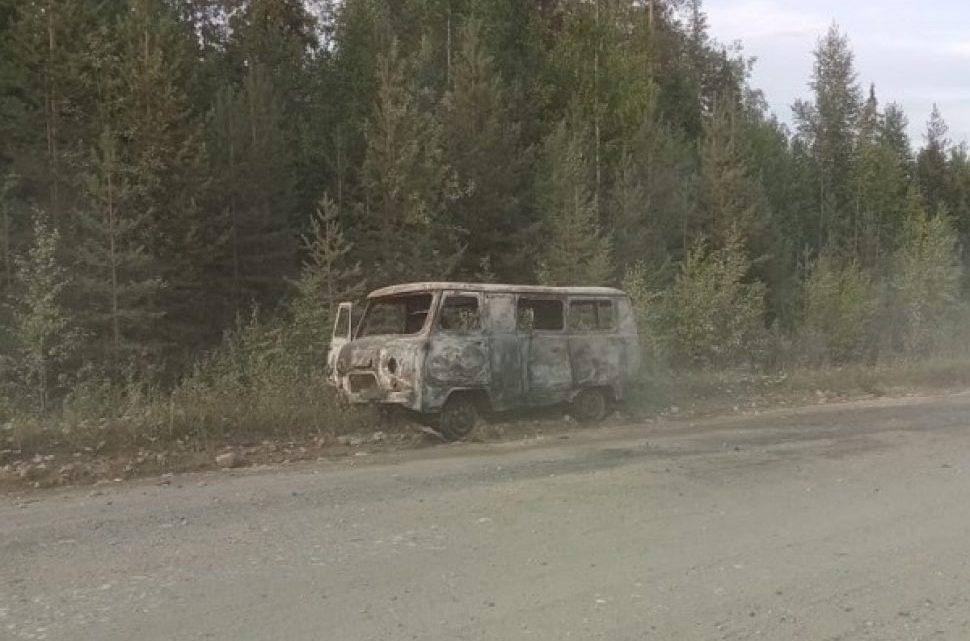 Автомобиль загорелся прямо на ходу
